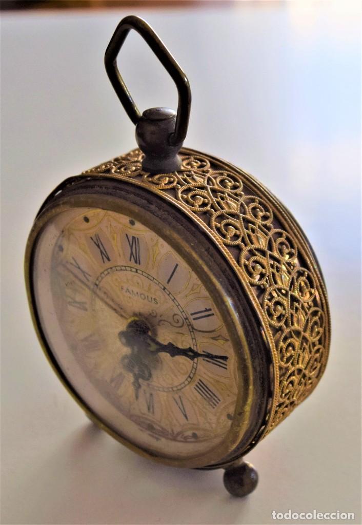 Despertadores antiguos: LOTE 6 RELOJ DESPERTADOR MARCAS BLESSIND, FAMOUS, KAISER Y DAEL FABRICADOS EN ALEMANIA - Foto 34 - 220639536