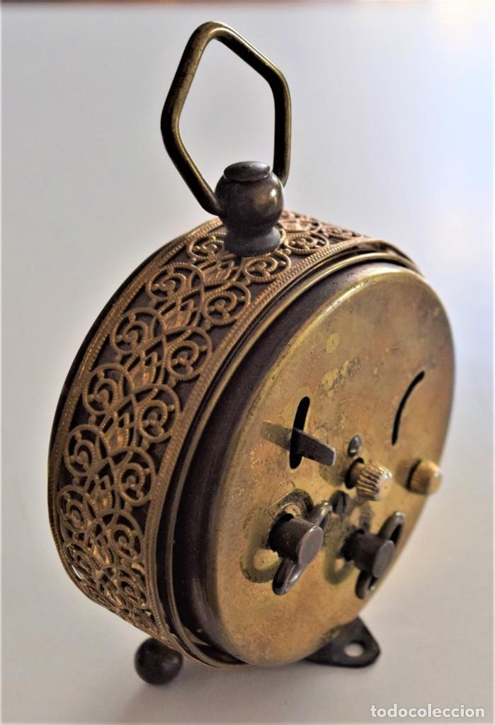 Despertadores antiguos: LOTE 6 RELOJ DESPERTADOR MARCAS BLESSIND, FAMOUS, KAISER Y DAEL FABRICADOS EN ALEMANIA - Foto 36 - 220639536