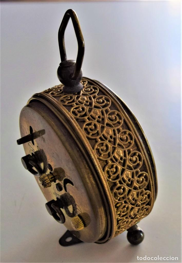 Despertadores antiguos: LOTE 6 RELOJ DESPERTADOR MARCAS BLESSIND, FAMOUS, KAISER Y DAEL FABRICADOS EN ALEMANIA - Foto 38 - 220639536