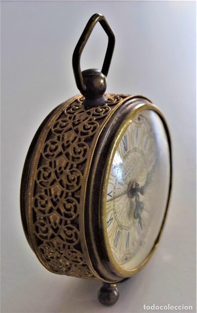 Despertadores antiguos: LOTE 6 RELOJ DESPERTADOR MARCAS BLESSIND, FAMOUS, KAISER Y DAEL FABRICADOS EN ALEMANIA - Foto 39 - 220639536