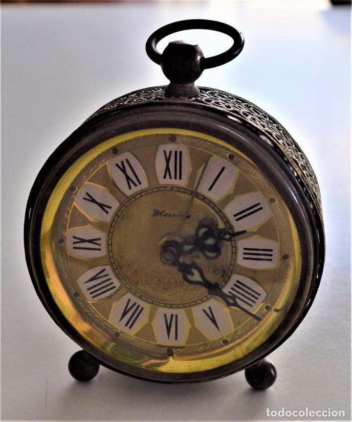 Despertadores antiguos: LOTE 6 RELOJ DESPERTADOR MARCAS BLESSIND, FAMOUS, KAISER Y DAEL FABRICADOS EN ALEMANIA - Foto 43 - 220639536
