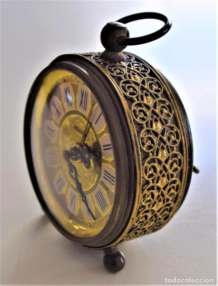 Despertadores antiguos: LOTE 6 RELOJ DESPERTADOR MARCAS BLESSIND, FAMOUS, KAISER Y DAEL FABRICADOS EN ALEMANIA - Foto 44 - 220639536