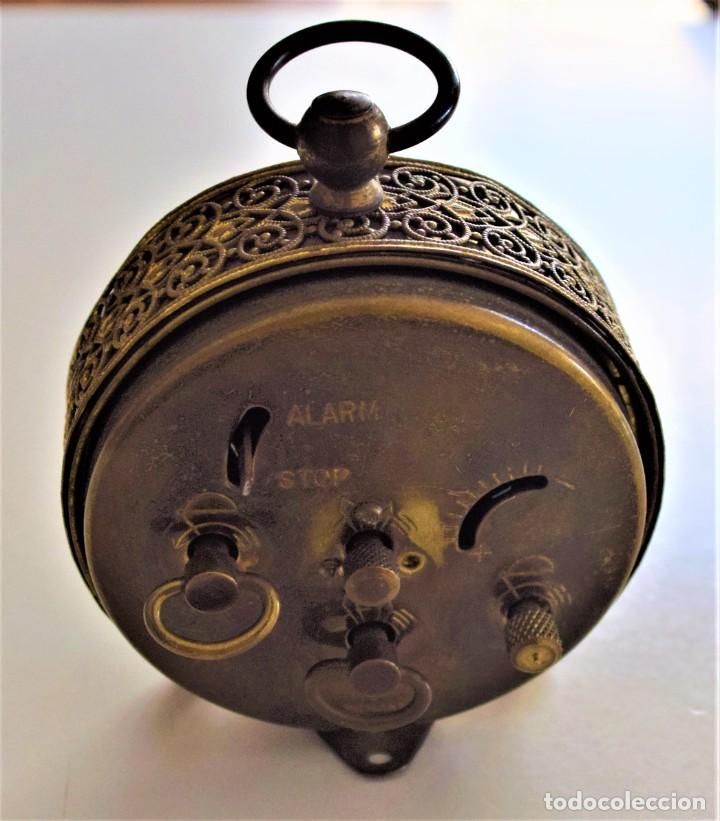 Despertadores antiguos: LOTE 6 RELOJ DESPERTADOR MARCAS BLESSIND, FAMOUS, KAISER Y DAEL FABRICADOS EN ALEMANIA - Foto 47 - 220639536