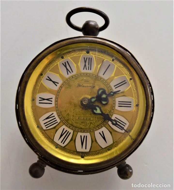 Despertadores antiguos: LOTE 6 RELOJ DESPERTADOR MARCAS BLESSIND, FAMOUS, KAISER Y DAEL FABRICADOS EN ALEMANIA - Foto 53 - 220639536