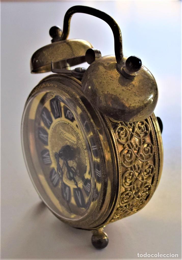 Despertadores antiguos: LOTE 6 RELOJ DESPERTADOR MARCAS BLESSIND, FAMOUS, KAISER Y DAEL FABRICADOS EN ALEMANIA - Foto 55 - 220639536