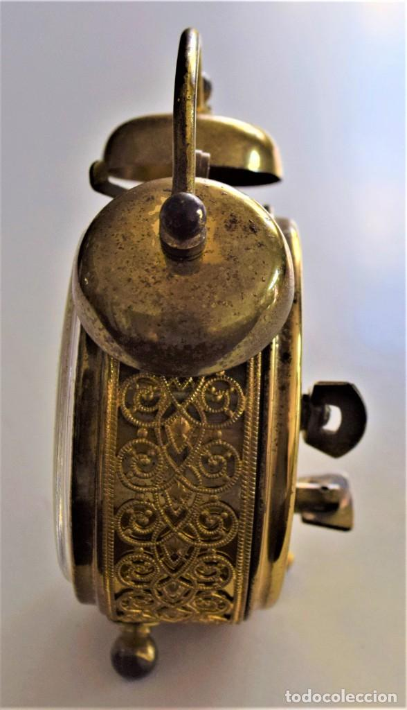 Despertadores antiguos: LOTE 6 RELOJ DESPERTADOR MARCAS BLESSIND, FAMOUS, KAISER Y DAEL FABRICADOS EN ALEMANIA - Foto 56 - 220639536