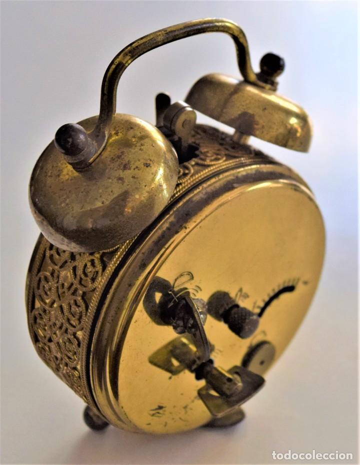 Despertadores antiguos: LOTE 6 RELOJ DESPERTADOR MARCAS BLESSIND, FAMOUS, KAISER Y DAEL FABRICADOS EN ALEMANIA - Foto 57 - 220639536
