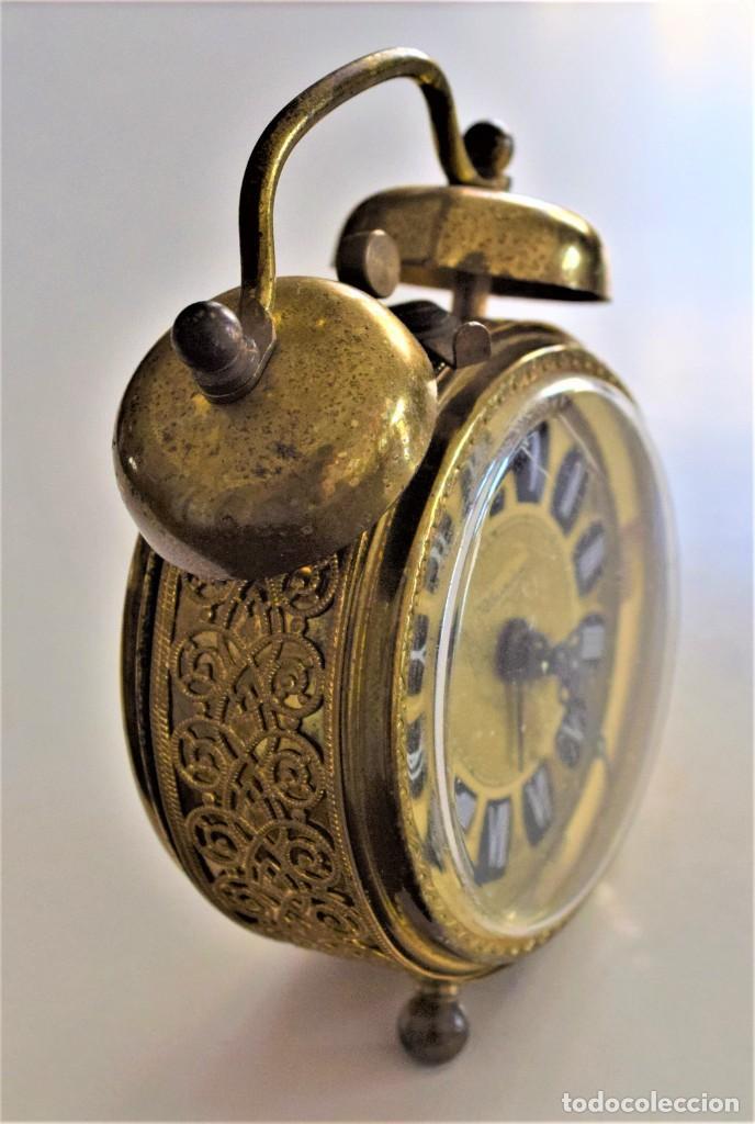 Despertadores antiguos: LOTE 6 RELOJ DESPERTADOR MARCAS BLESSIND, FAMOUS, KAISER Y DAEL FABRICADOS EN ALEMANIA - Foto 60 - 220639536