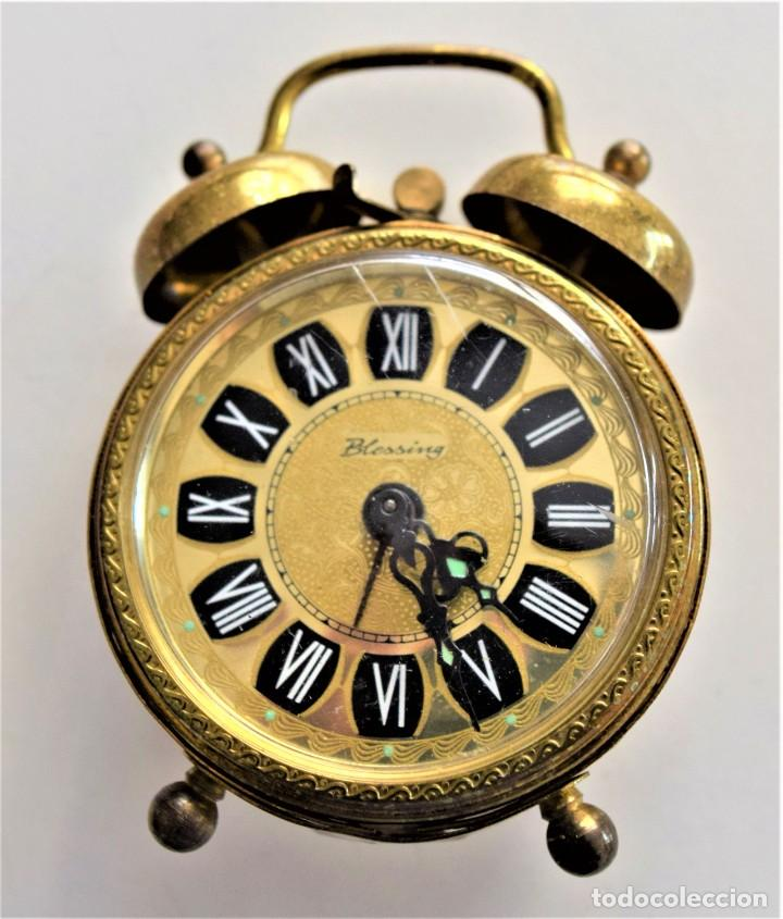 Despertadores antiguos: LOTE 6 RELOJ DESPERTADOR MARCAS BLESSIND, FAMOUS, KAISER Y DAEL FABRICADOS EN ALEMANIA - Foto 63 - 220639536
