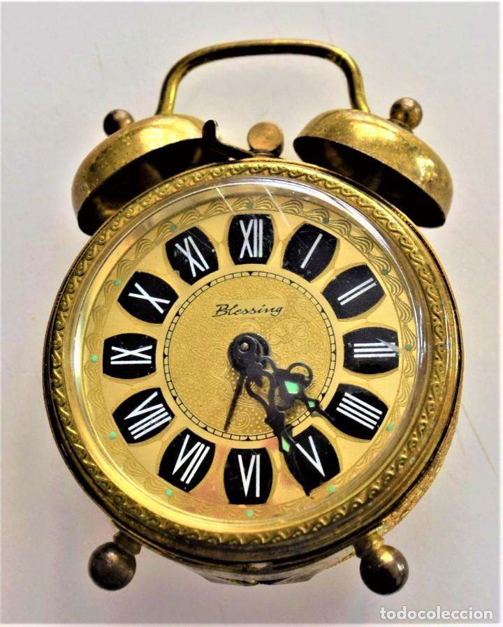Despertadores antiguos: LOTE 6 RELOJ DESPERTADOR MARCAS BLESSIND, FAMOUS, KAISER Y DAEL FABRICADOS EN ALEMANIA - Foto 64 - 220639536