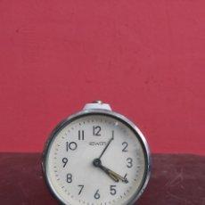 Despertadores antiguos: RELOJ DESPERTADOR NOWELY ANTIGUA. Lote 221685627