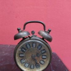 Despertadores antiguos: RELOJ DESPERTADOR BLESSING WEST GERMANY ANTIGUA. Lote 221710767