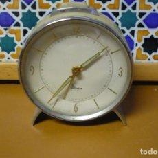 Despertadores antiguos: DESPERTADOR MICRO 2 JEWELS. Lote 222055727