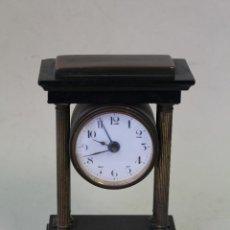 Despertadores antiguos: ANTIGUO RELOJ DESPERTADOR DE LATÓN. Lote 222300996