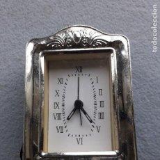 Despertadores antiguos: RELOJ DESPERTADOR DE CUARZO. Lote 222378093