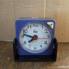Despertadores antiguos: RELOJ DESPERTADOR PLEGABLE FIZZ. Lote 222589413
