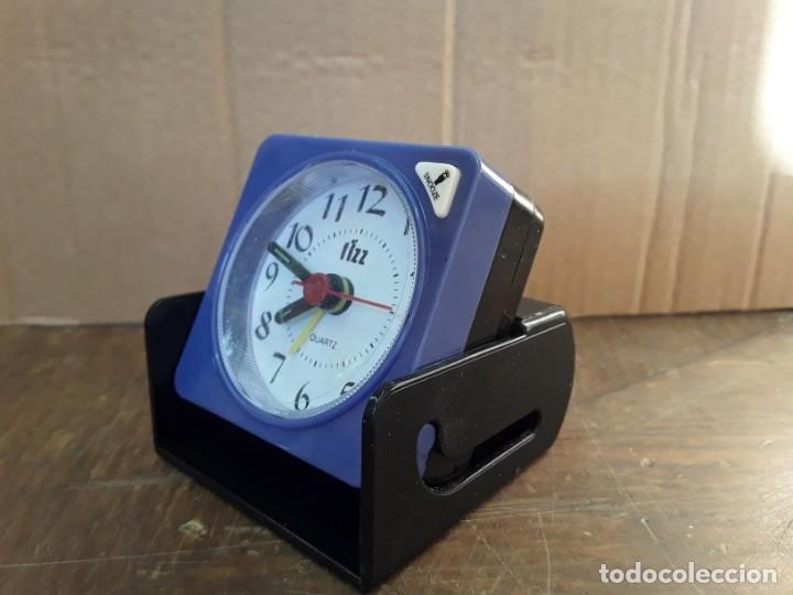 Despertadores antiguos: Reloj despertador plegable FIZZ - Foto 2 - 222589413