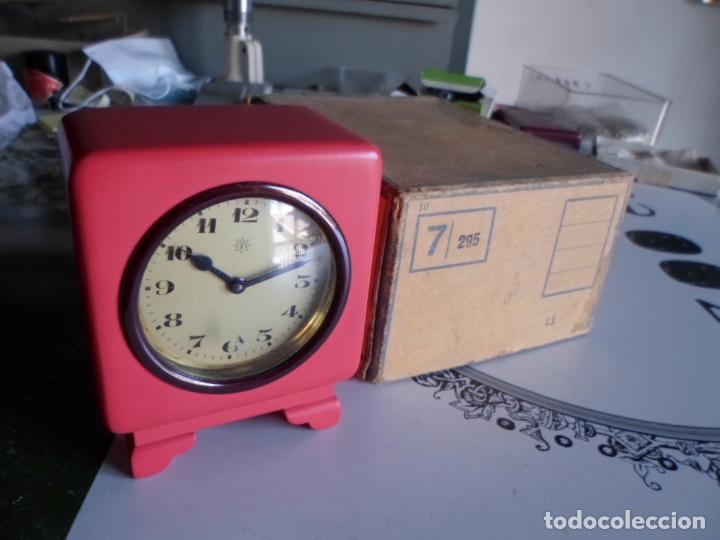 ANTIGUO RELOJ DESPERTADOR NUEVO DE CUERDA (Relojes - Relojes Despertadores)