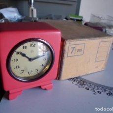 Despertadores antigos: ANTIGUO RELOJ DESPERTADOR NUEVO DE CUERDA. Lote 222609493