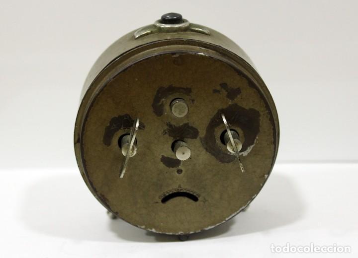 Despertadores antiguos: Reloj Despertador - RELOJERÍA R.CARO DE CASTELLÓN. - Foto 5 - 223966231