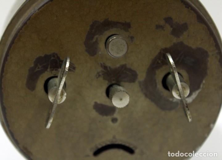 Despertadores antiguos: Reloj Despertador - RELOJERÍA R.CARO DE CASTELLÓN. - Foto 6 - 223966231