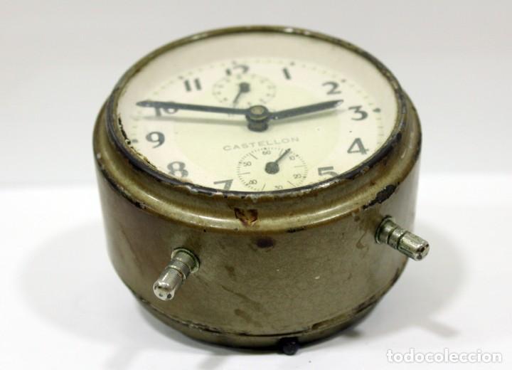 Despertadores antiguos: Reloj Despertador - RELOJERÍA R.CARO DE CASTELLÓN. - Foto 8 - 223966231