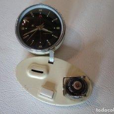 Despertadores antiguos: ANTIGUO RELOJ DESPERTADOR CALENDARIO. Lote 225036908