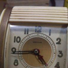 Despertadores antiguos: RELOJ WESTCLOX ANTIGUO. Lote 225823865