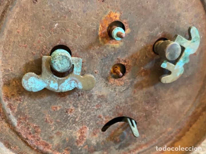 Despertadores antiguos: Curioso despertador antiguo, JOSE CULUBRET, FIGUERAS. Leer mas - Foto 11 - 227830460