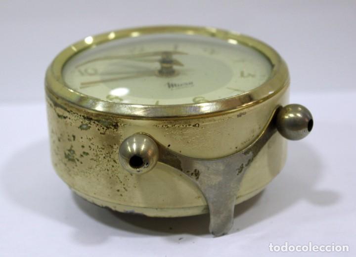 Despertadores antiguos: Reloj despertador MICRO 2 JEWELS. - Foto 8 - 228007945