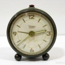 Despertadores antiguos: RELOJ DESPERTADOR DIEHL - DILETTA. FUNCIONA PERFECTAMENTE.. Lote 228116170