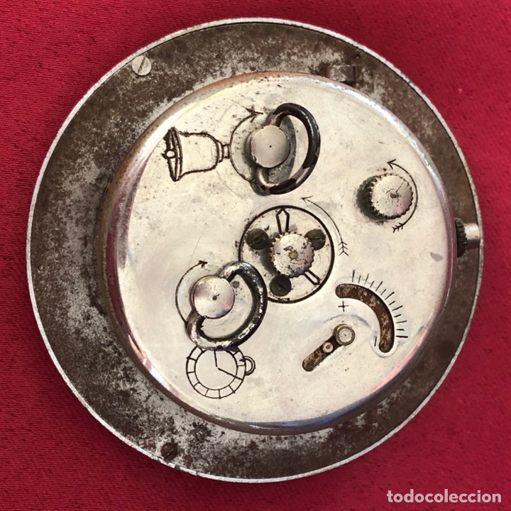 Despertadores antiguos: ANTIGUO RELOJ ORIS SUIZO - Foto 2 - 229085261