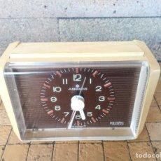 Despertadores antigos: RARO RELOJ DESPERTADOR VINTAGE DE LA MARCA JUNGHANS CAVALIER REPEAT - FUNCIONANDO. Lote 231406690