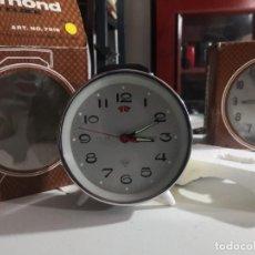 Despertadores antiguos: RELOJ DESPERTADOR VINTAGE DIAMOND DE CUERDA CARGA MANUAL AÑOS 60 EN SU CAJA. Lote 231800025