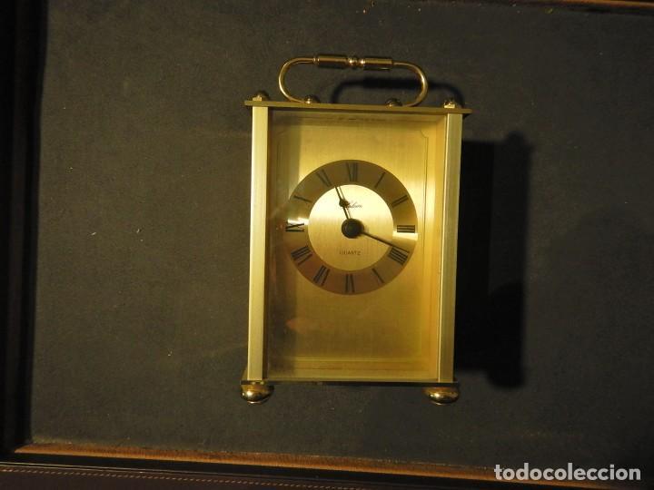 Despertadores antiguos: Reloj de carruaje - Foto 3 - 232880110