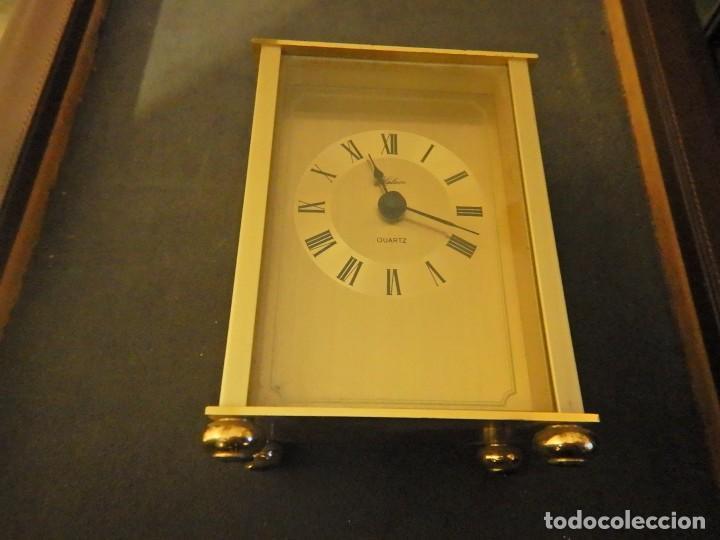 Despertadores antiguos: Reloj de carruaje - Foto 5 - 232880110