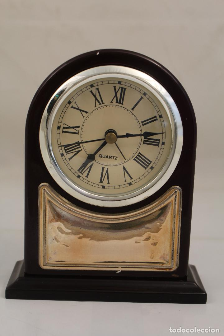 RELOJ DESPERTADOR DE PLATA DE LEY 925 (Relojes - Relojes Despertadores)