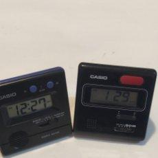Despertadores antiguos: CASIO DQ-500 + DQ-540. Lote 235535245