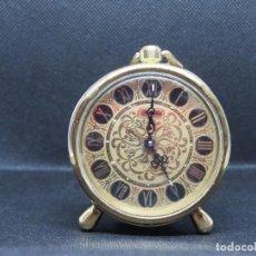 Despertadores antiguos: RELOJ DESPERTADOR DE JAPON RHYTHM AÑOS 1950. Lote 235626770