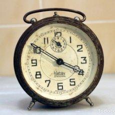 Despertadores antiguos: RARO RELOJ DESPERTADOR BLAHGY STANDARD. Lote 235819655