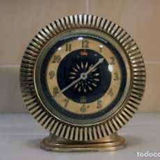 Despertadores antiguos: RARO RELOJ DESPERTADOR EQUITY - HIPNÓTICO. RUSO AÑOS 60-70. Lote 235892500