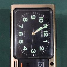 Despertadores antiguos: RELOJ DESPERTADOR SEIKO QKG125G. Lote 235936265