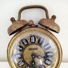 Despertadores antiguos: RELOJ DESPERTADOR A CUERDA BLESSING MADE IN GERMANY. Lote 235965015