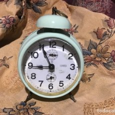 Despertadores antiguos: RELOJ DESPERTADOR - AÑOS 50/ 60 - RELOJERO- LUIS TORRES- BURGOS - ESPAÑA. Lote 236216970