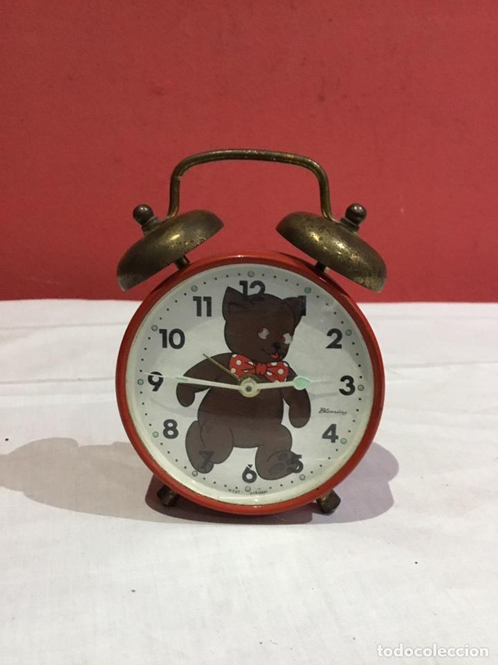 RELOJ DESPERTADOR BLESSING ( WEST GERMANY) VER FOTOS (Relojes - Relojes Despertadores)
