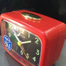 Despertadores antiguos: DESPERTADOR RHYTHM ¡ BIG ALARM ! ¡¡NUEVO!! (VER FOTOS). Lote 237392815