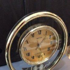 Despertadores antiguos: RELOJ RHYTHM ¡ GOLD CRISTAL ! ¡¡NUEVO!! (VER FOTOS). Lote 237393510