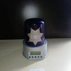Despertadores antiguos: DESPERTADOR SIRENA DE POLICÍA. Lote 238695495