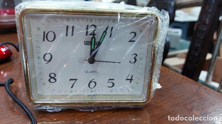 RELOJ DESPERTADOR QUARTZ11X9CM (Relojes - Relojes Despertadores)