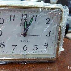 Despertadores antiguos: RELOJ DESPERTADOR QUARTZ11X9CM. Lote 239674190